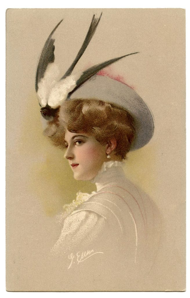 lady bird hat